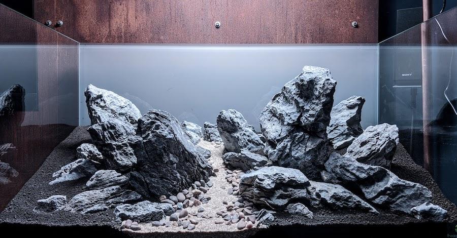 Hardscape with landscape style